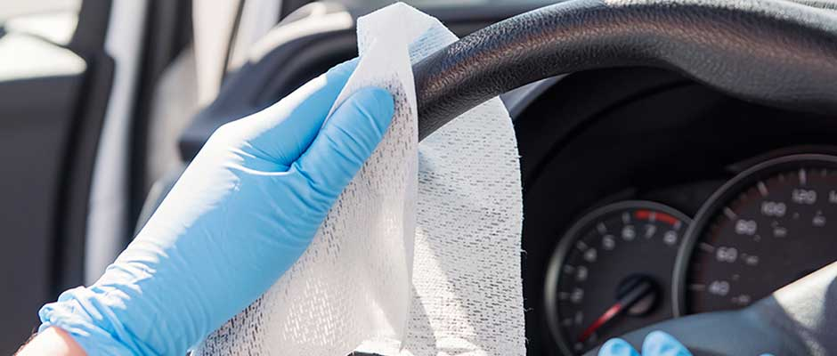 We Pride Ourselves on Returning Your Vehicle in Clean and Sanitary Condition